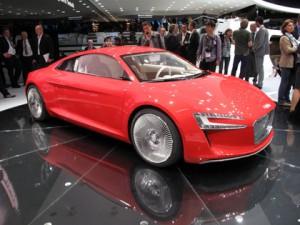 Audi R8 electric car concept