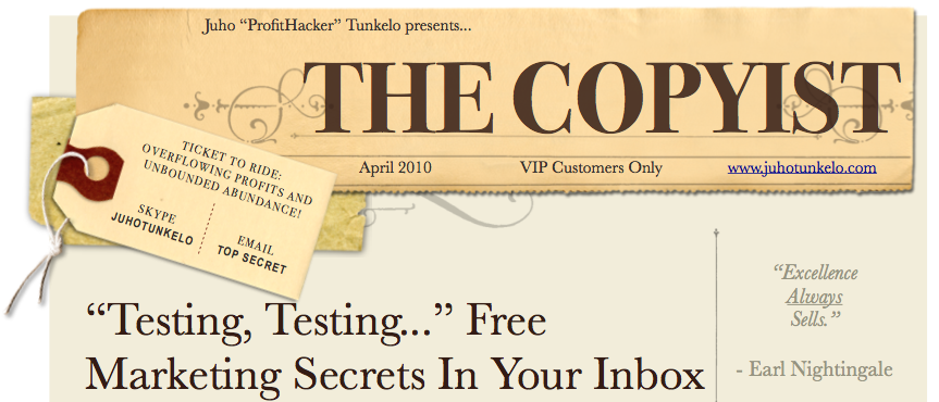 The newsletter for people who like things that work