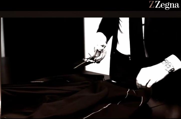 Zegna promo video