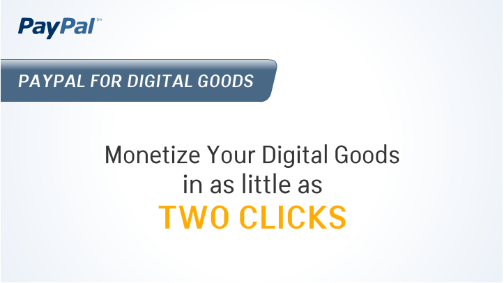 Paypal Digital Goods