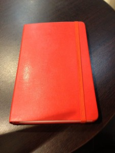 The Red Moleskine - works for me.